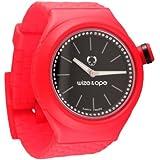 Wize & Ope Unisex-Armbanduhr Analog Plastik schwarz SH-CL-3S