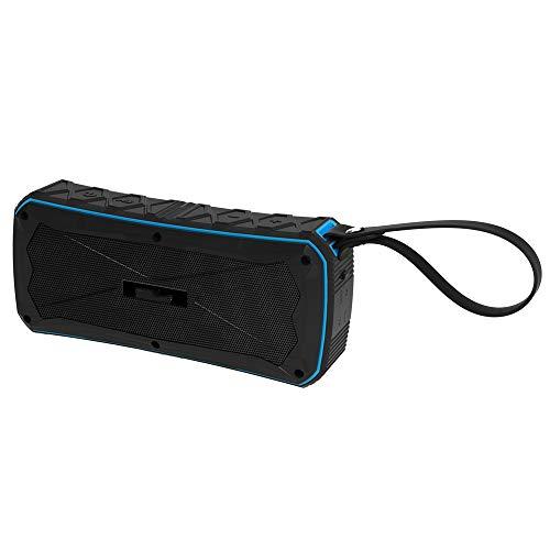 LIM Tragbare Lautsprecher, Kabelloser Bluetooth 4.1 Speaker, 8h Spielzeit, 10m Reichweite, IPX67 Wasserfest Staubdicht mit Eingebauten Mikrofon, für Smartphone, PC, Tablet