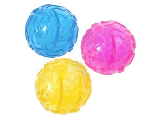 Karlie Hundespielzeug Tpr Ball, durchmesser 8 cm, farblich Sortiert
