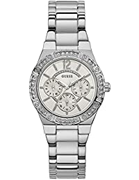 GUESS Envy Analog White Dial Women's Watch - W0845L1