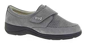 VAROMED Tallin 79151-61 Damen Therapieschuhe Grau, UK 8, EU 42