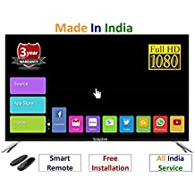 Sceptre 32 Inches Full HD- Full Smart Android LED TV NX32ZDFHD: Free Air Mouse Keyboard: 3 Years Warranty Offer: Inbuilt Ram & Storage Memory: Download Games/Apps From App Store: Free Installation