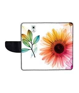 KolorEdge Printed Flip Cover For Samsung Galaxy Note 3 Multicolor - (55KeMLogo11544SamNote3)