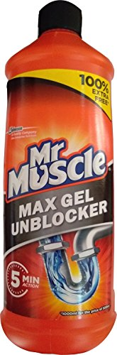 Mr Muscle Kitchen and Bathroom Drain Gel