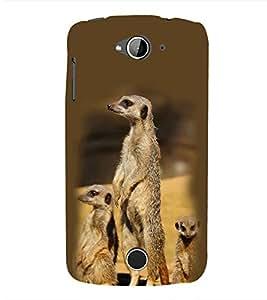 Fuson Designer Back Case Cover for Acer Liquid Z530 :: Acer Liquid Zade Z530S (Mongoose Mungoose Animal Snake Killer Standing Mungoose)