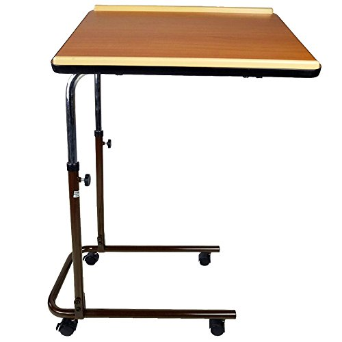 Mesa auxiliar regulable en altura, con una sola bandeja | Modelo Sierra | Marca Mobiclinic