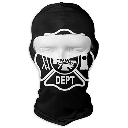 Jxrodekz Feuerwehr Logo Feuerwehrmann Motorcyle Gesichtsmaske Multifunktionssport Magie Headwear
