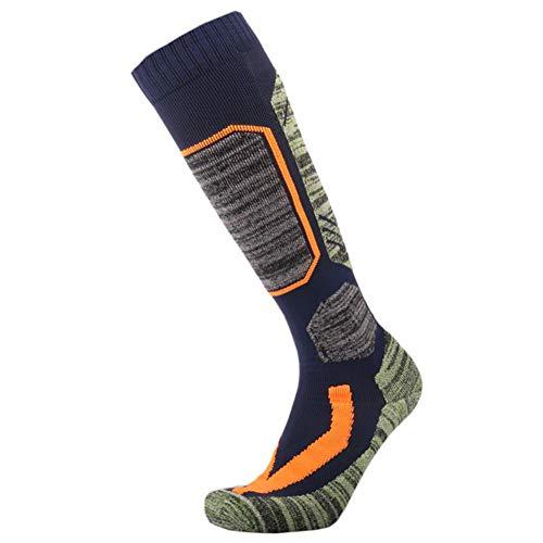 Jannyshop 2 Pack Herren Ski Socken Unisex High Performance Thermal Ski Socken für Outdoor Sports Radfahren Laufen Wandern Walking Gym | 00774536164887