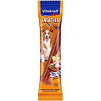 Vitakraft Treaties Roll Bacon Style Friandise Poulet pour Chien 26 g - Lot DE 9
