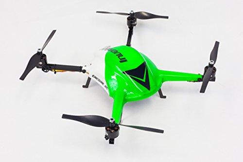 Encore-RC-Invertix-400-Kit-CF-Extreme-Stunt-Quadcopter-with-External-Receiver