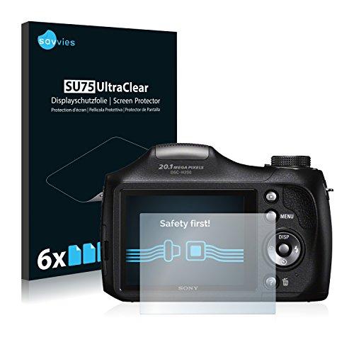 Galleria fotografica Sony Cyber-Shot DSC-H300 Pellicola Protettiva [6 Pack] Protezione Proteggi Schermo