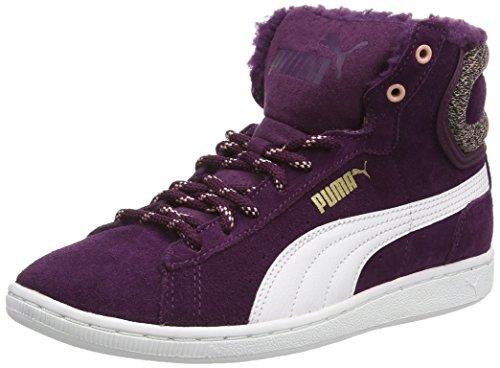 Puma Puma Vikky Mid Marl, Sneaker alta donna, Viola (Violett (italian plum-white 02)), 39