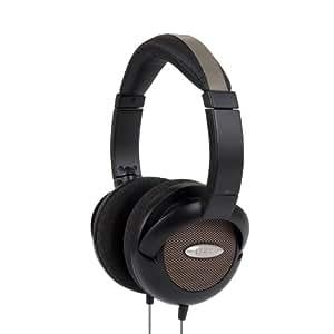 Koss UR55 On-Ear Studio Pulse Headphones for iPod, iPhone, MP3 and Smartphone - Black