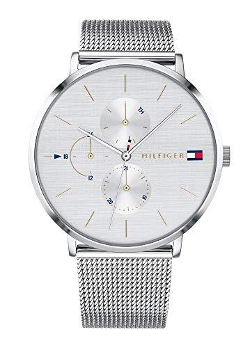 Tommy Hilfiger Damen Multi Zifferblatt Quarz Uhr mit Edelstahl Armband 1781942 (Watch Frauen Von Tommy Hilfiger)