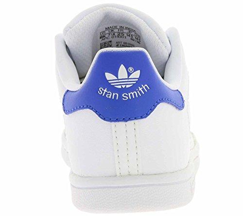 ADIDAS stan smith i INFANT SCARPE SPORTIVE Bianco/azzurro