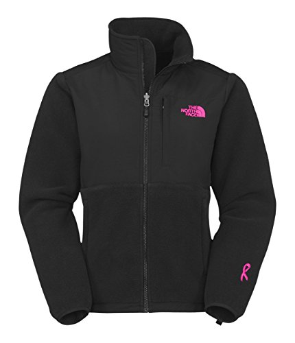 Damen North Face Pink Ribbon Denali Jacke TNF Schwarz Größe: XS (Ribbon-fleece Pink)