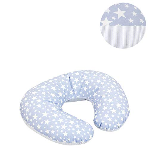 Cambrass Coussin d'Allaitement Petit Star Bleu 58 X 45 cm