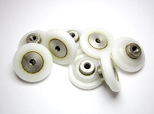 8-rulli-ruote-ruota-rullo-cuscinetti-per-box-doccia-anta-scorrevole-ricambi-b09-23mm