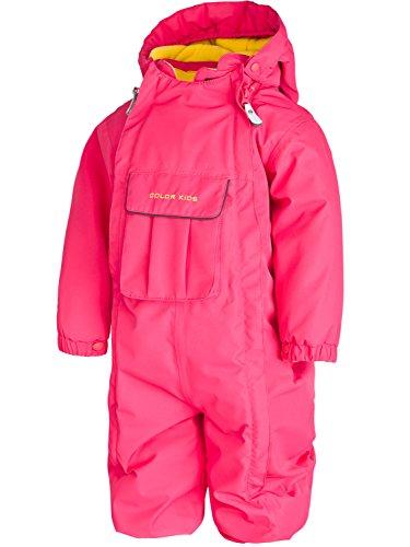 Jungen, Mädchen Taiko Overall Mini All in One Anzug Ski Snowboard Winter Pink Schwarz Gr. 86-92 cm, rose
