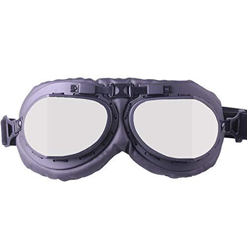 Peanutaod Retro Brille Motorradbrille Offroad Brille Ritterbrille Anti-Schock Sand