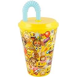 Emoji Vaso caña Value 430ml (STOR 86630)