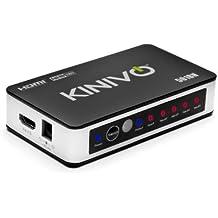 Kinivo 501BN Premium switch HDMI a 5 porte ad alta