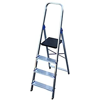 Arcama EN131 Aluminium Domestic Step Ladder, 374
