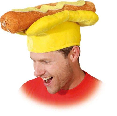 (Orlob Hut Hotdog zum lustigen Kostüm an Karneval Fasching Party)