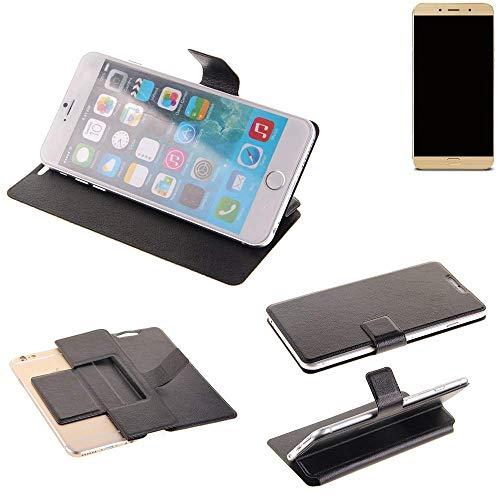 K-S-Trade Schutz Hülle für Allview X4 Soul Lite Schutzhülle Flip Cover Handy Wallet Case Slim Handyhülle bookstyle schwarz