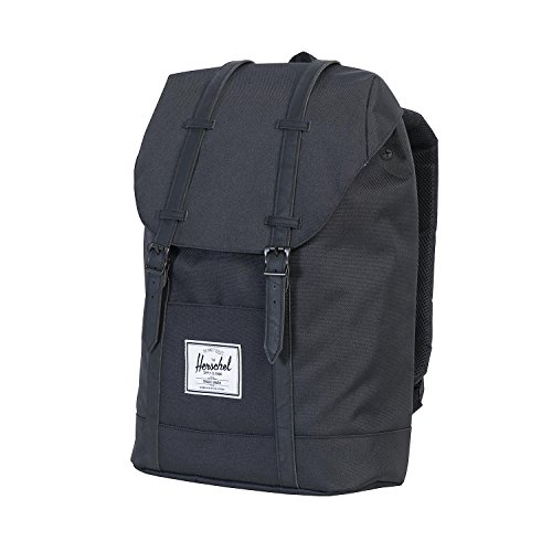 Herschel Supply Co Hombre Retirarse correas de la mochila, Negro, One Size