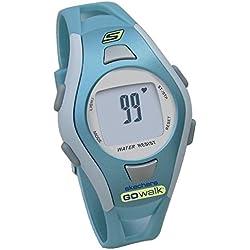 Skechers Women's SK4 GOwalk Fitwatch Heart Rate Monitor, Blue, Medium