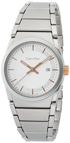 Calvin Klein Men's Analogue Quartz Watch with Stainless Steel Strap K6K33B46