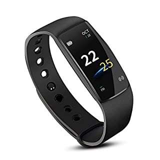 AISOUL Activity Tracker, IP67 Waterproof Fitness Tracker Watch with Heart Rate Monitor, Step Counter Watch Stopwatch Connected GPS, Bluetooth Pedometer Step Calorie Counter Women Men