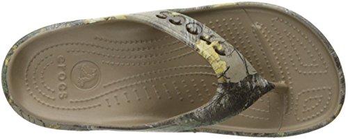 Crocs Baya Line Schuhe mit Fleecefutter. Komfort Line mit Fußbett. Blue. Walnut