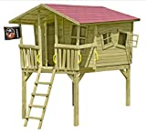 Gartenpirat Stelzenhaus Spielhaus Tom-Fun