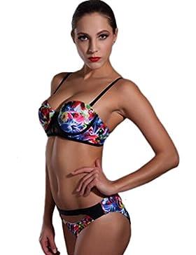 PRIDE S Indumento bikini sexy del bikini di Gangne di modo del costume da bagno ( Colore : Multicolore , dimensioni...
