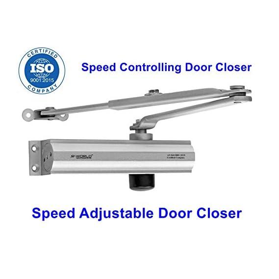 TNL R-World Hydraulic Door Closer Heavy Duty Aluminum Hydraulic Door Closer 1-Year PC To PC