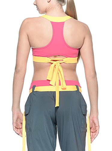 Reebok Damen Sport-BH Pink