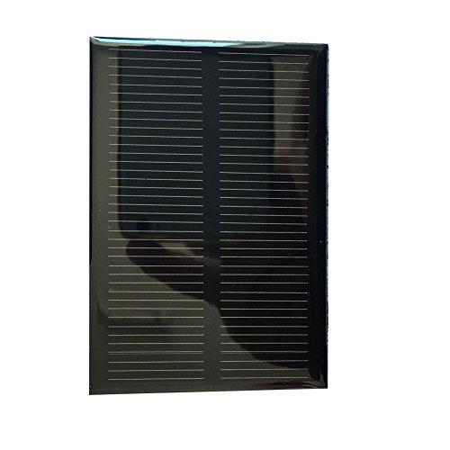 Shsyue® 5.5V 120mA 0.66W Mini Solar Panel, DIY Solarmodul Polykristalline Silizium Solarzelle
