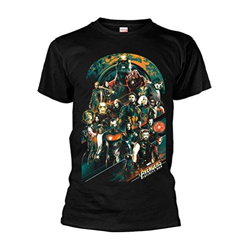 Marvel Avengers Infinity WARAVENGERS Team T-Shirt M (Die Avengers Tshirt)