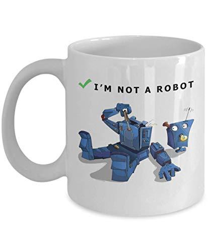 Mug, 11 oz Ceramic White Coffee Mugs, Funny Coffee Mug for Geeks, Nice Computer Programmer Coding Presents, Great IT Tech Professional, Nice Computer Geek Presents ()