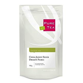 China-Jasmin-Silver-Dragon-Pearls-100g-ein-handvearbeiteter-Grner-Tee-mit-feinem-Jasmin-Aroma