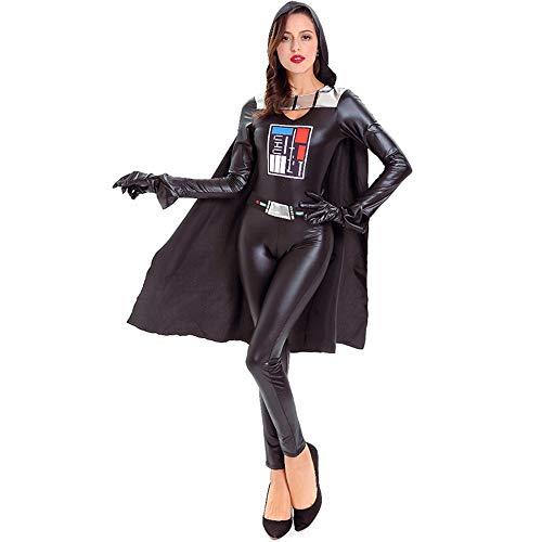 Qy Paare Halloween Kostüme, Männer Und Frauen Space Warrior Dress Up, Star Wars Future Warrior, Cosplay Kostüm, Bühnenspiel, Festival Show (Star Wars Cosplay Kostüm Männer)
