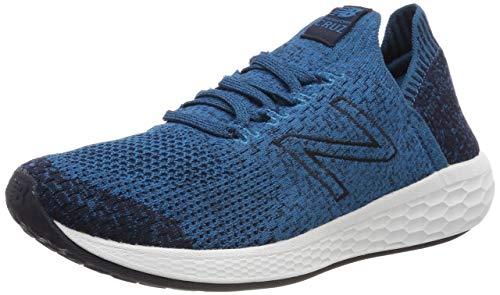New Balance Herren Fresh Foam Cruz v2 Sock Sneaker, Türkis (Dark Neptune/Eclipse Ld2), 44 EU -