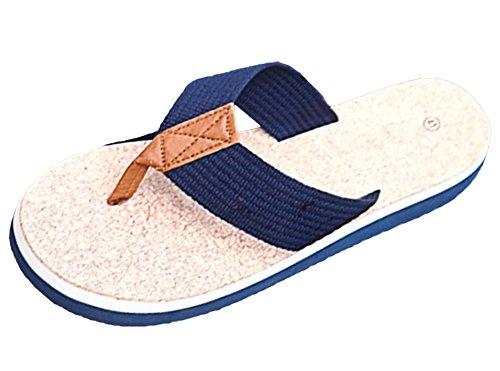 Scothen Sommer Sandale,Unisex Herren Jungen Clog Breathable Mesh Sommer Sandalen Strand Aqua,Walking,Anti-Rutsch Hausschuhe Garden Clogs Shoes Mens Garden Shoes Unisex Adult Sandals Slippers Slip Blau