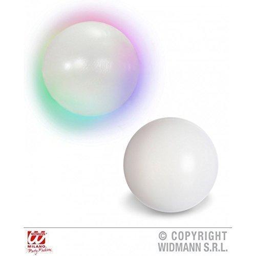 Leuchtende Kristallkugel / Wahrsagerkugel mit Farbwechsel ca. 12,5 cm