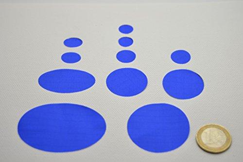 Kit de réparation de doudoune - Couleur : Bleu foncé
