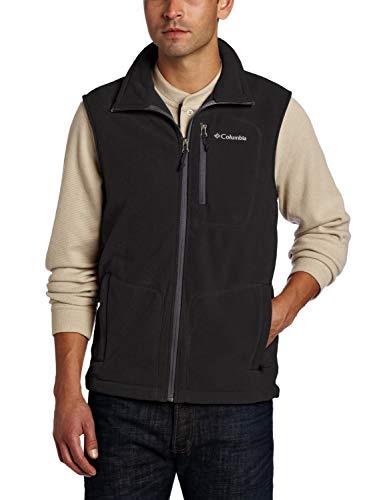 Columbia Weste für Herren, Fast Trek Fleece Vest, Polyester, schwarz, Gr. XL, 1460001