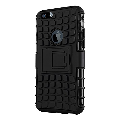 CruzerLite IP6-Spi-Orange Spi-Force Dual Layer Schutzhülle für Apple iPhone 6 orange schwarz