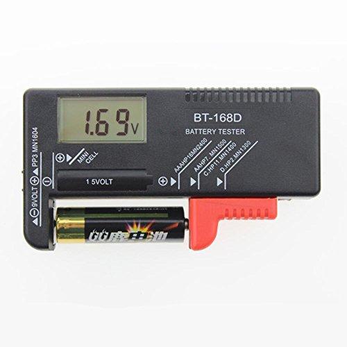 Mini tragbar Digital LCD Display Batterie Tester für Kapazität Spannung Widerstand Strom